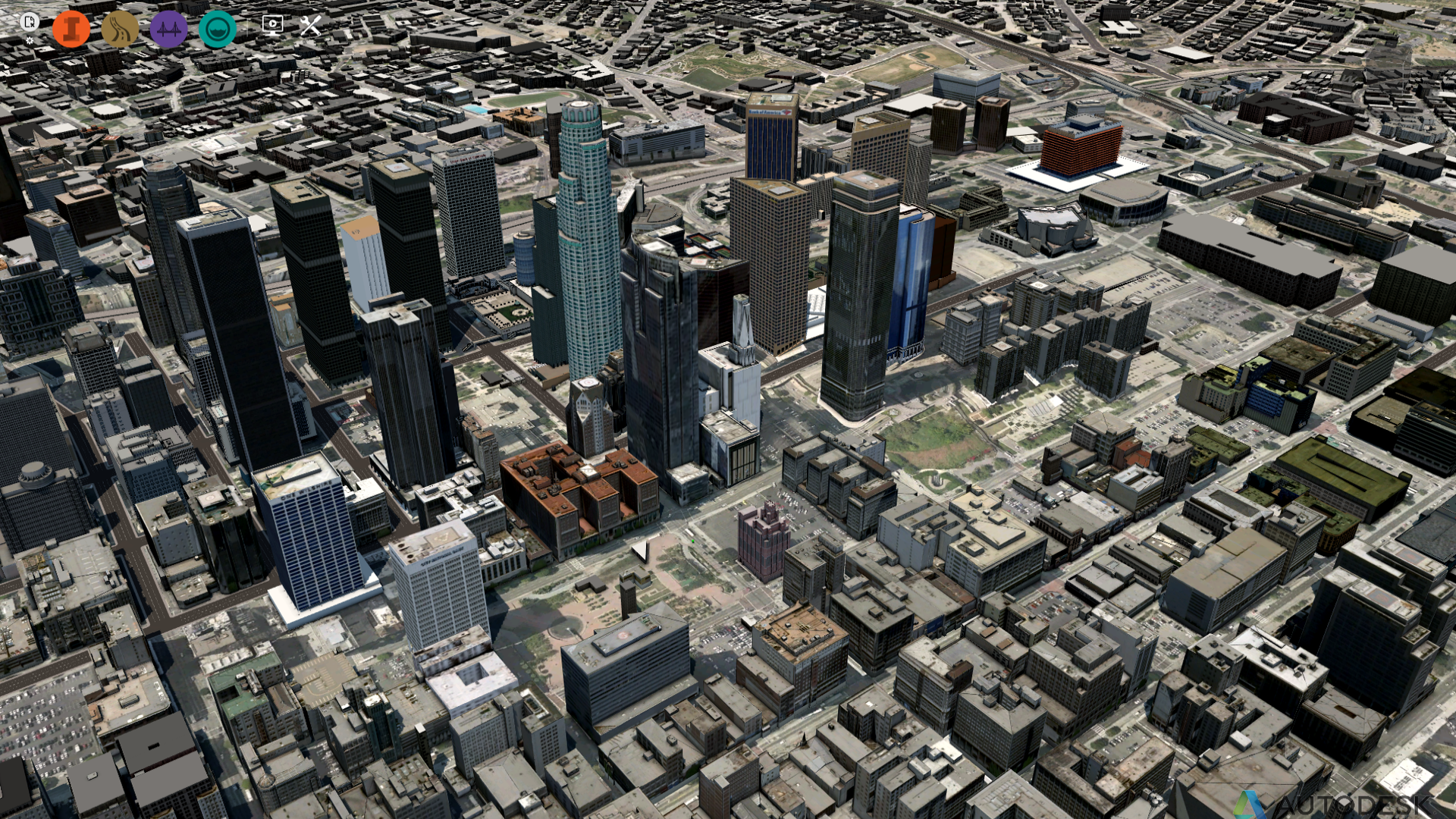 Un esempio di visualizzazione da Autodesk Infrastructure Suite 2016