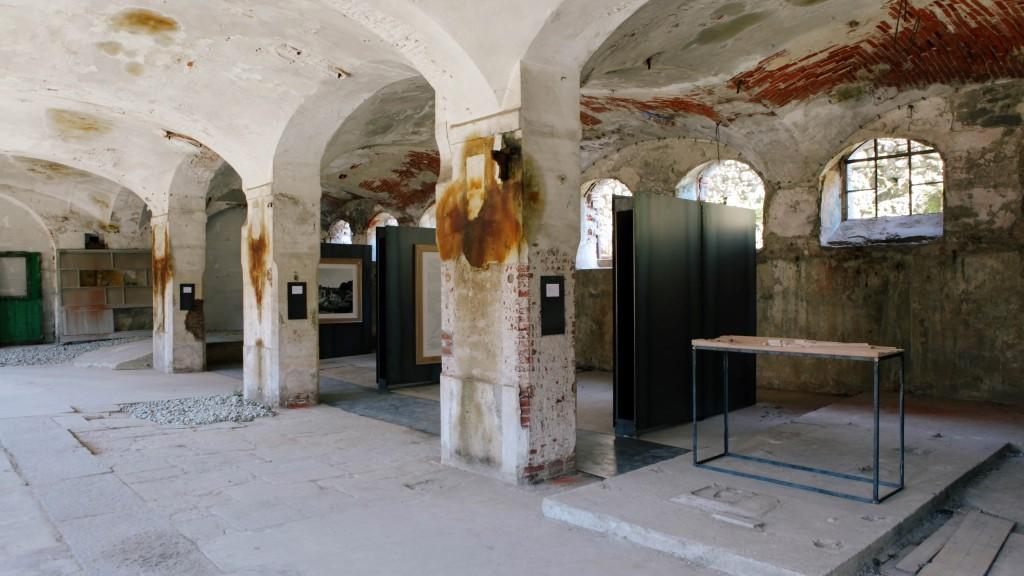 """Il progetto vincitore: """"Il rammendo della vallata"""", del  gruppo Concreto (Gregorio Pecorelli/Andrea Bellincampi/Gianluca Canzini/Alberto Pizzoli)"""