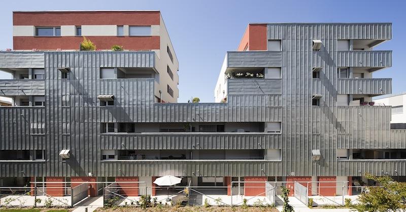Lo studio delle facciate riveste un ruolo importante nella ricerca di Mateo Arquitectura © Luc Boegly