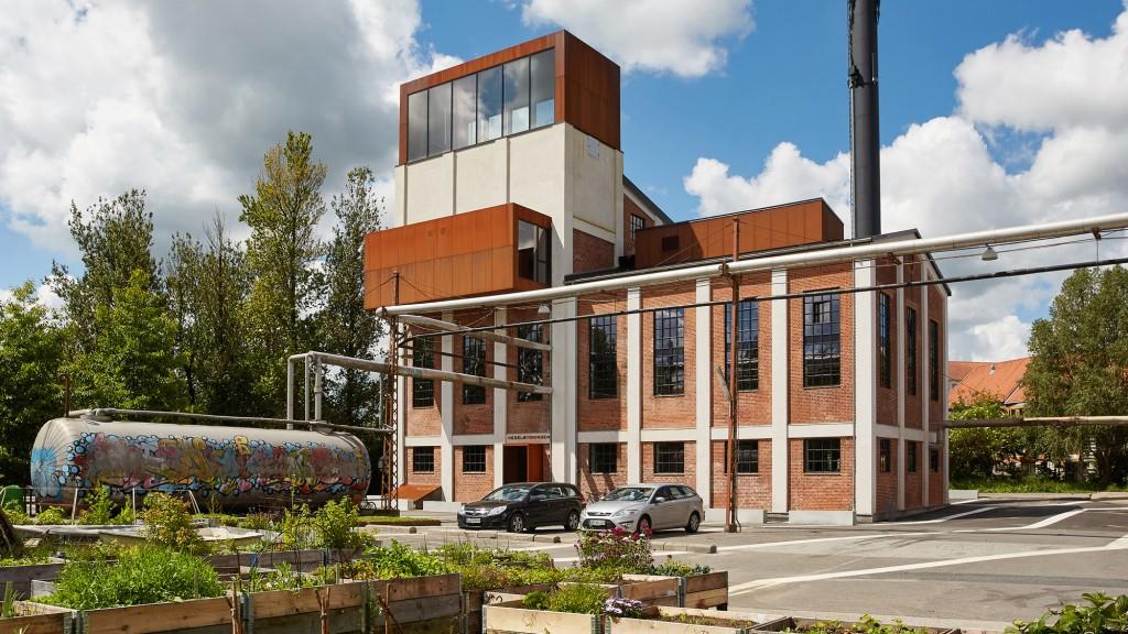 La riconversione della centrale termica di Vejle © schmidt hammer lassen architects