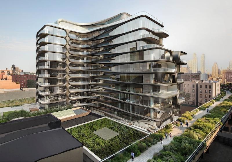 Come sar il primo 39 condominio 39 di zaha hadid a new york - Hadid architetto ...