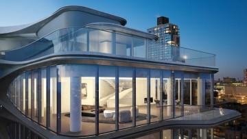Come sarà il primo 'condominio' di Zaha Hadid a New York
