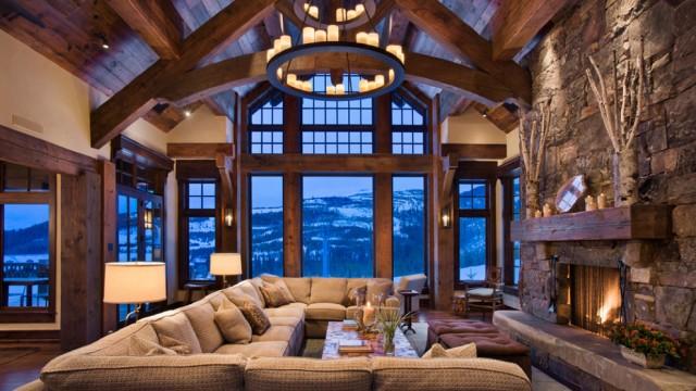 Interior design: il camino come elemento compositivo degli spazi ...
