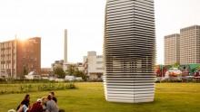 Smog Free Tower: la torre che depura l'aria e ricicla lo smog