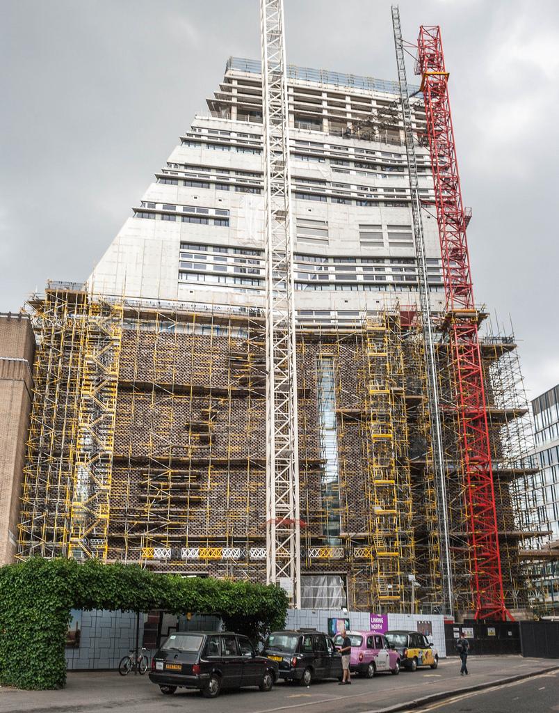 Tate modern londra in ampliamento le scelte tecnologiche for Tate gallery di londra