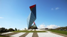 Daniel Libeskind per The Crown, scultura-monumento in gres porcellanato