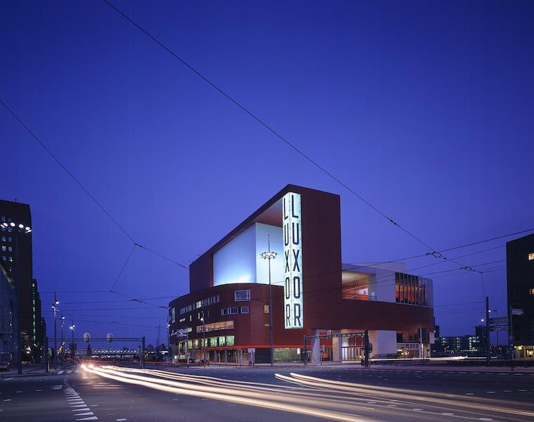 Il cinema-teatro Luxor a Rotterdam (Bolles + Wilson, foto: Christian Richters)