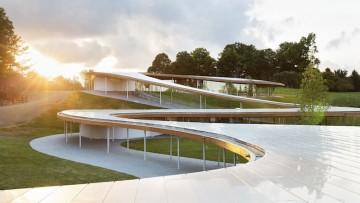 Architettura organica: il progetto di Sanaa nella riserva naturale di Grace Farms