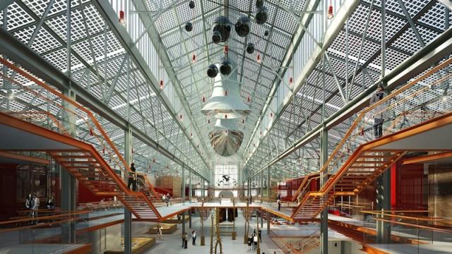 Renzo Piano a Mosca per il GES2, un nuovo centro culturale