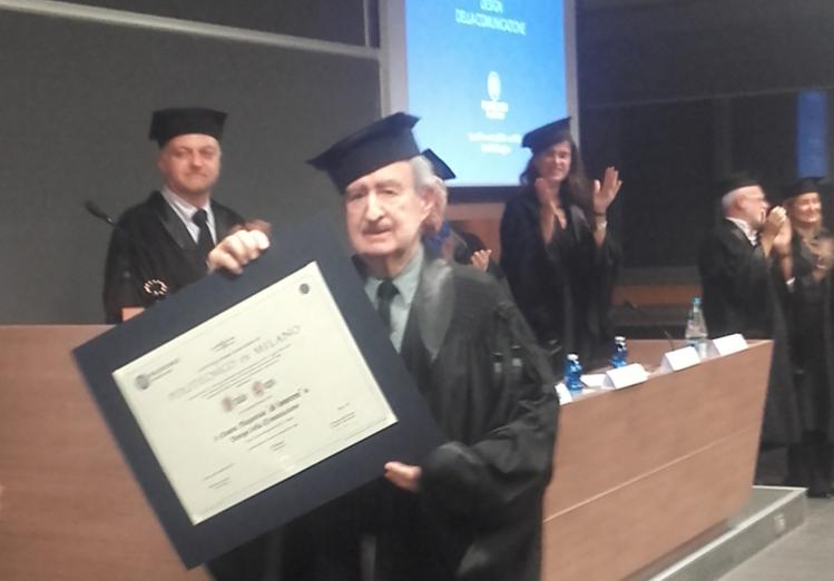 A italo lupi la laurea ad honorem del politecnico di for Scuola del design polimi