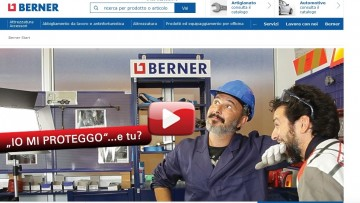 Nasce Berner Online Shop, per una nuova shopping experience