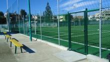 Le recinzioni metalliche Betafence per un impianto sportivo in provincia di Cagliari