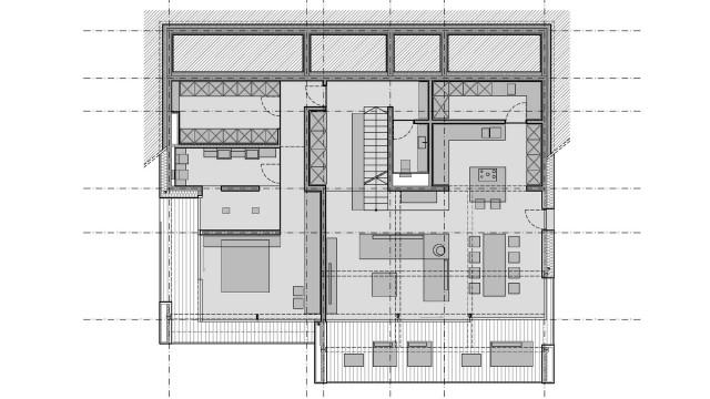 La casa sulla collina mountain view house by sono for Piani casa contemporanea collina
