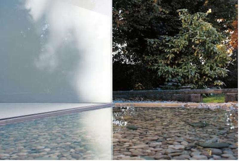 Marsigli 17_FIG 1_Superfici dÔÇÖacqua, spazio espositivo Euroom di Fiume Veneto (PN), Corde Architetti, 2010 (Foto Euro Rotelli)