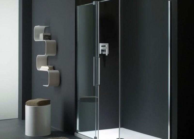 Box doccia con porte scorrevoli s lite di provex - Architetto porta ...