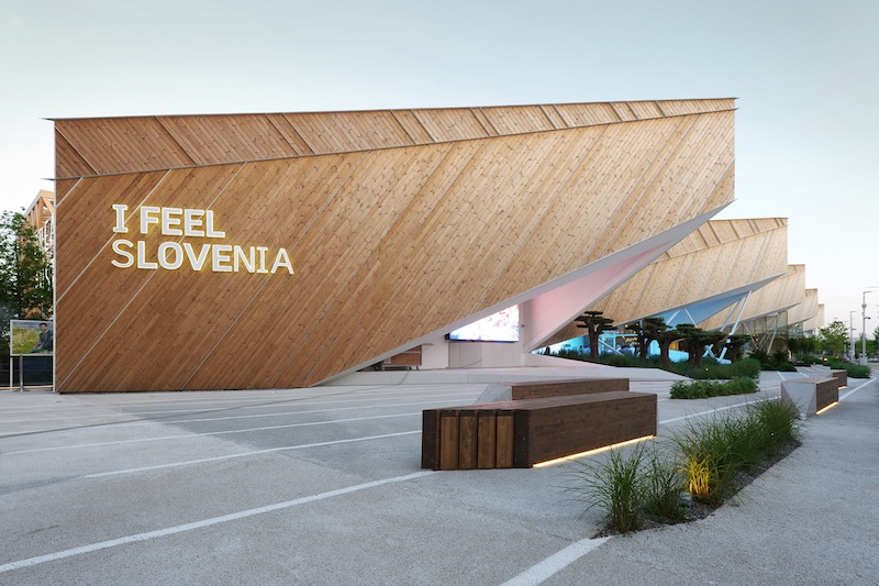 Padiglione della Slovenia a Expo 2015 © Samo Radinja
