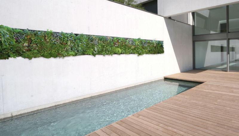 Pareti Dacqua Per Esterni : Come realizzare le vasche d acqua per il giardino architetto