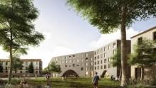 Barozzi Veiga per la riconversione di un'ex caserma a Bergamo