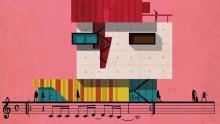 """David Bowie e la sua """"Space Oddity"""" tradotta in architettura da Federico Babina"""