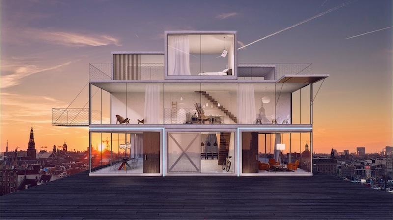 Tetris House © Universe Architecture