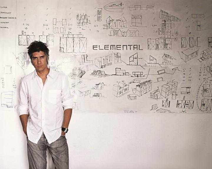 Ritratto di Alejandro Aravena di Cristobal Palma