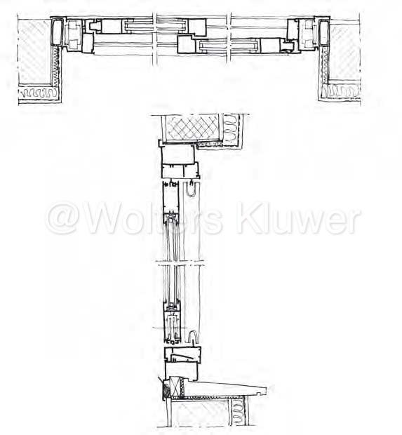 Serramenti in alluminio caratteristiche tecniche - Altezza di una finestra ...