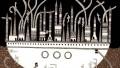 Le Città invisibili di Italo Calvino illustrate da Karina Puente