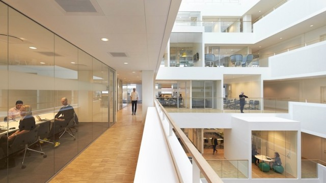 All'interno del Microsoft Domicile © Hufton + Crow