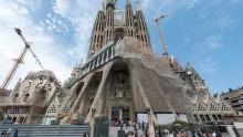 La Sagrada Familia verso il completamento: le Sei Torri che la coroneranno in un video