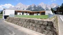 Edilizia scolastica: una scuola in Classe A+ tra le alpi