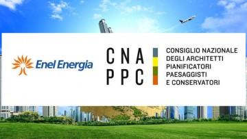 Consiglio nazionale architetti ed Enel Energia firmano un protocollo d'intesa