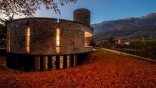 Restaurata la biblioteca di Luigi Caccia Dominioni a Morbegno