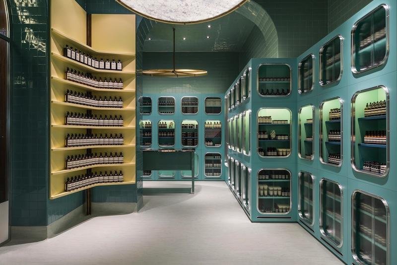 Aesop store, corso Magenta, Milano © Paola Pansini