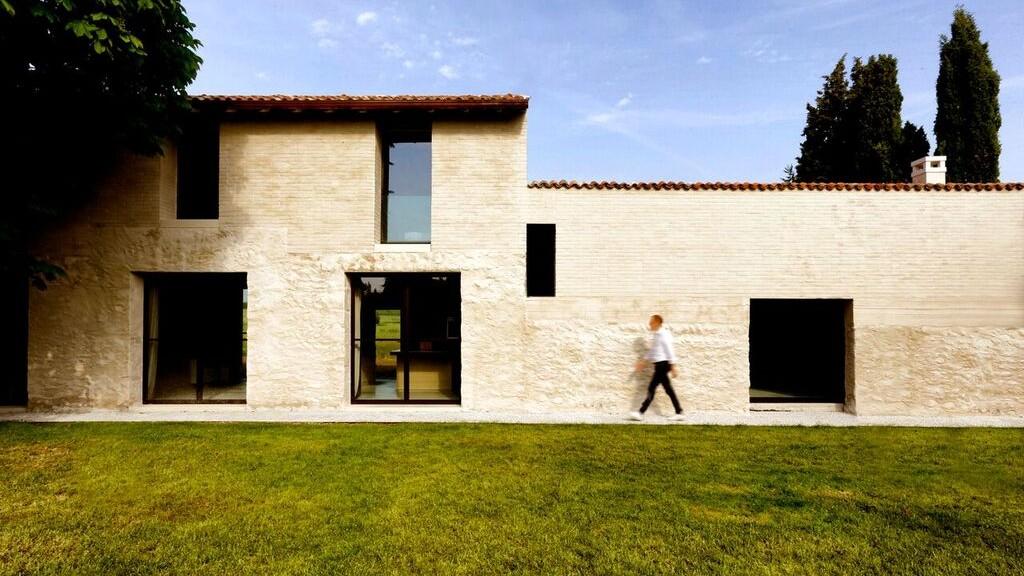 Immagine di uno dei progetti italiani selezionati, la Brick House di Filippo Bricolo