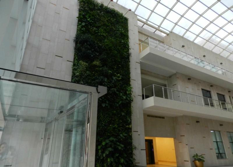 Giardini verticali italiani per gli emirati arabi uniti for Architetto giardini roma
