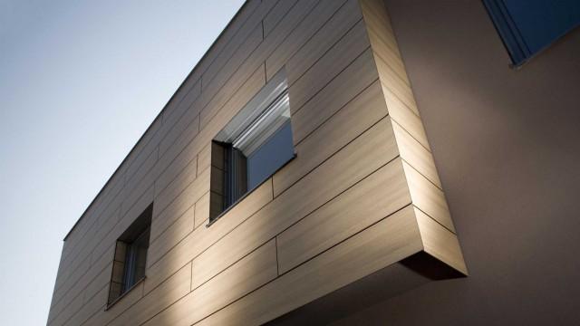 facciate ventilate i vantaggi del rivestimento trespa meteon. Black Bedroom Furniture Sets. Home Design Ideas