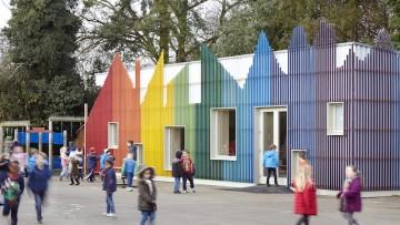 Edilizia scolastica: la mensa per bambini ispirata ai romanzi di Roald Dahl