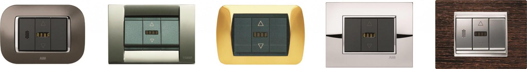 Sensori-temperatura-umidita_Placche_varie_marche_pulsanti_termoregolazione_SMARTOUCH