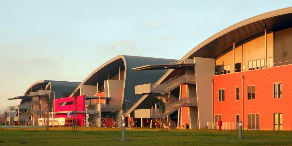 Il nuovo complesso Ospedali Riuniti di Padova Sud, Monselice. Foto di Aymeric Zublena