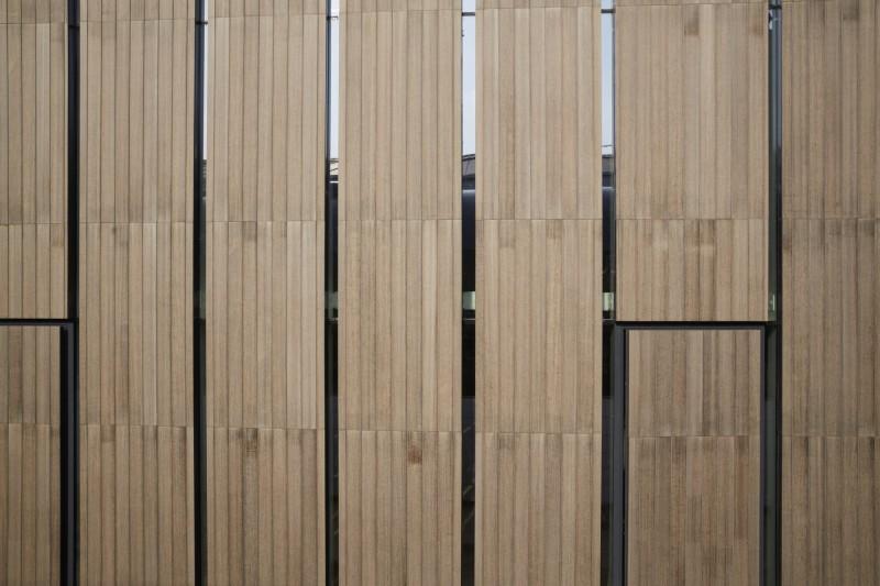 Dettaglio dei pannelli (foto:  Henrik Blomqvist)