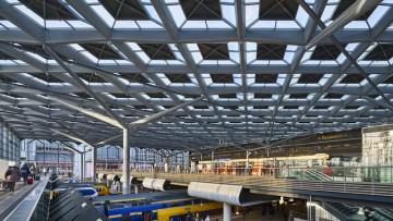 La nuova stazione centrale dell'Aia progettata da Benthem Crouwel Architects