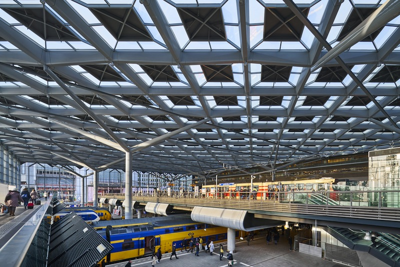 The Hague Central Station © Jannes Linders
