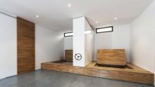 Pavimenti sopraelevati: l'idea di Studioata per il loft della maestra di pilates