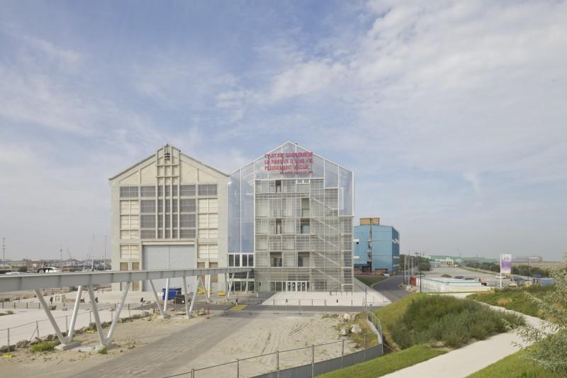 Il FRAC Nord-Pas-de-Calais a Dunkerque (2013)  foto: Philippe Ruault