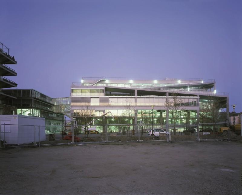 L'École d'architecture di Nantes (2009) - foto: Philippe Ruault