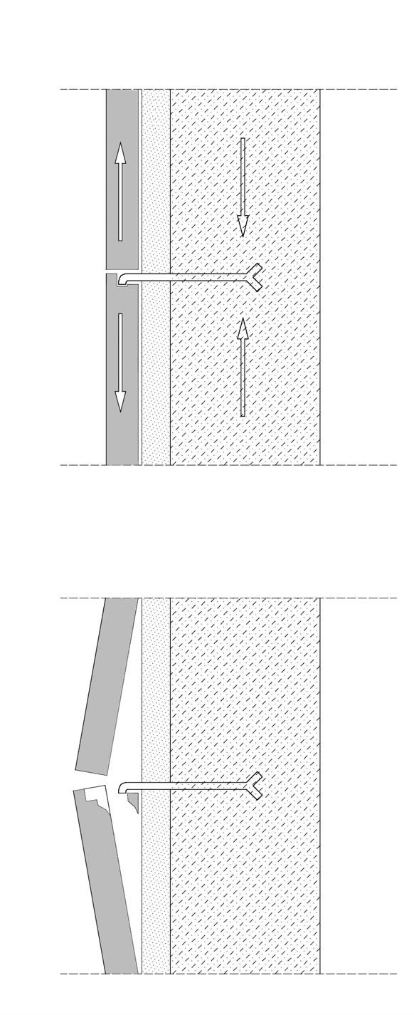 Franco 3_FIG 2_NUOVA_Rottura di rivestimento lapideo per dilatazioni termiche (Disegno di R. Vernazza)
