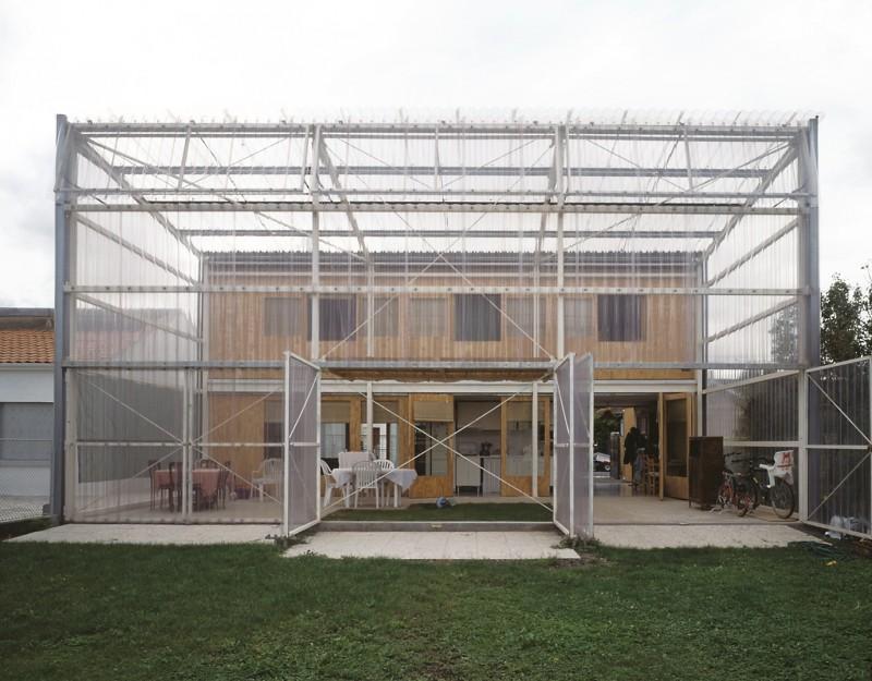 La Maison Latapie a Floirac (1993) foto: Philippe Ruault