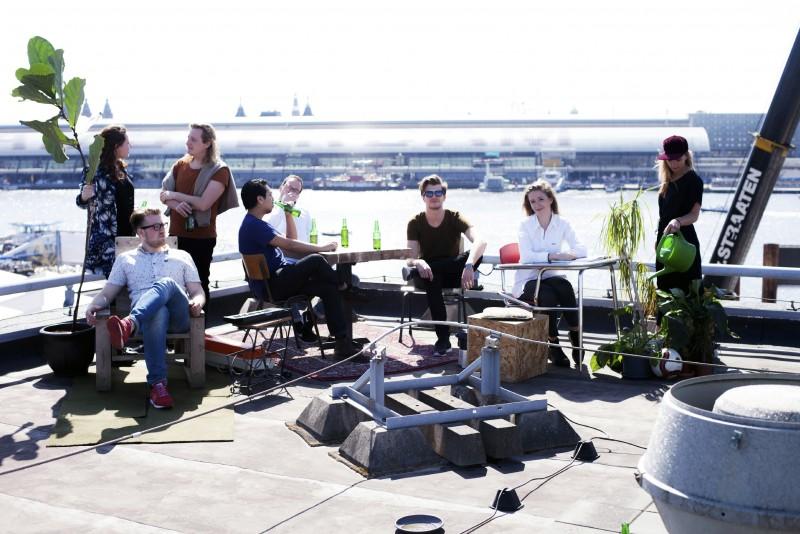 Rooflab, uno dei progetti speciali realizzati ad Amsterdam dallo studio olandese Rooflife, tra i relatori degli incontri di ROOFdinners