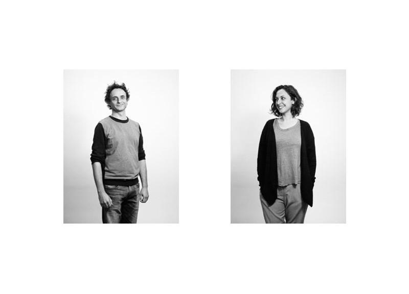 Paolo Borghino e Sarah Becchio dello Studio Errante. Foto: Michael Paul Romstoock