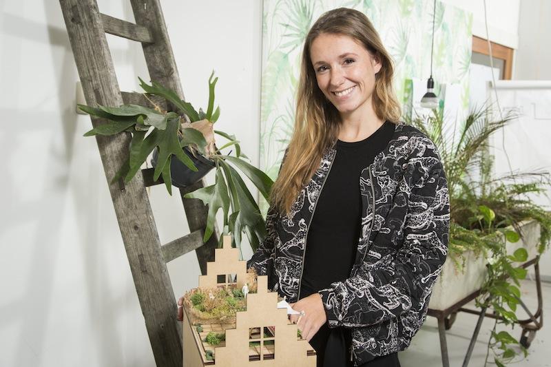 Tessa Florence Duste di Rooflife, protagonista dell'incontro di ROOFdinners, in programma a Milano il 12 maggio e a Torino il 13 maggio